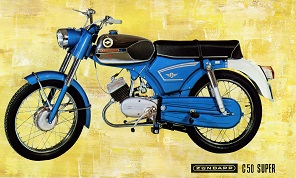 Zündapp C50 Super folder